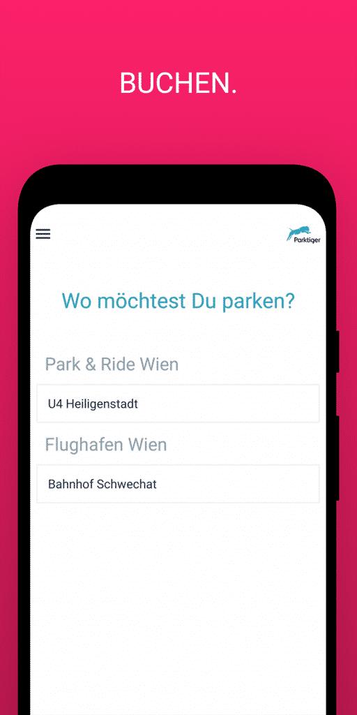 parktiger airport parking